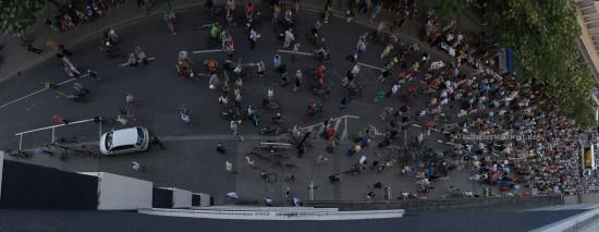 Demo in der Lautenschlagerstraße