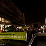 Demo vom Startpunkt Lautenschlagerstraße