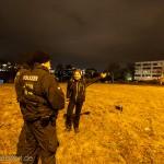 Demoanmelderin Carola Eckstein fordert die Polizei auf den Menschen einen anständigen Weg frei zu machen