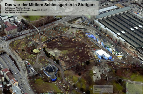 Luftbilder Manfred Grohe Aufarbeitung baumpaten-schlossgarten.de