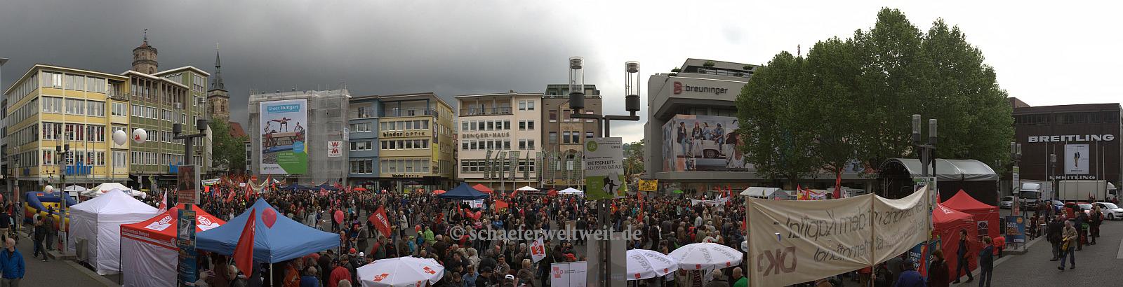 ©2014 Alexander Schäfer - 1. Mai Demo Marktplatz