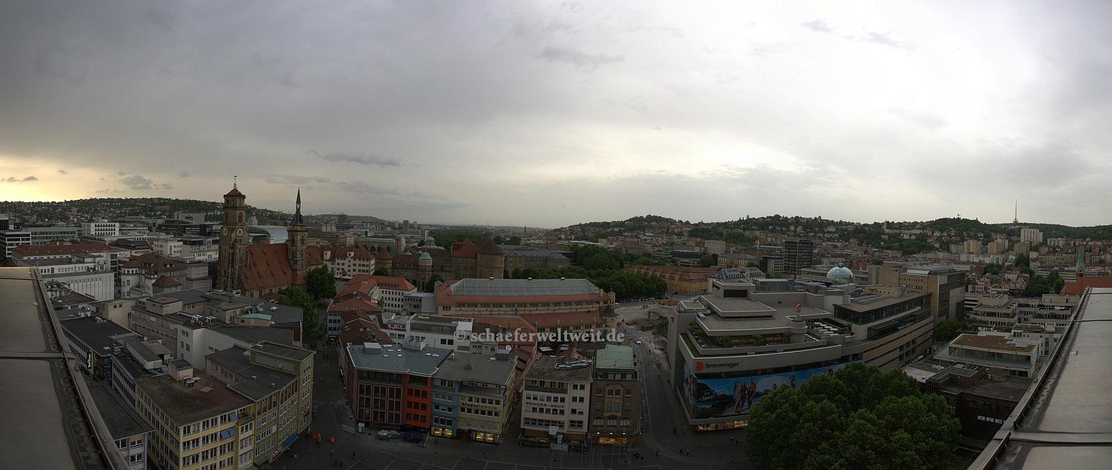 Ausblick auf der Marktplatz Seite