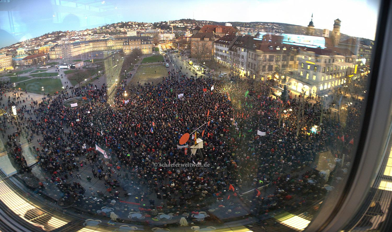 ©2015 Alexander Schäfer - AntiPegida Demo Stuttgart