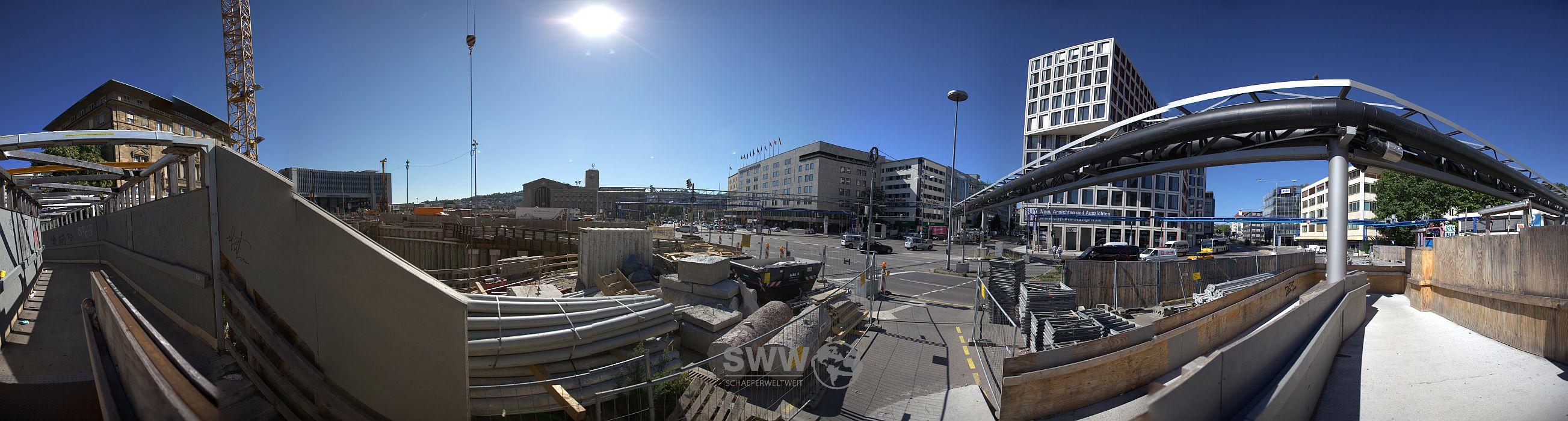 "Panorama ""H7, U12 und Citygate"""